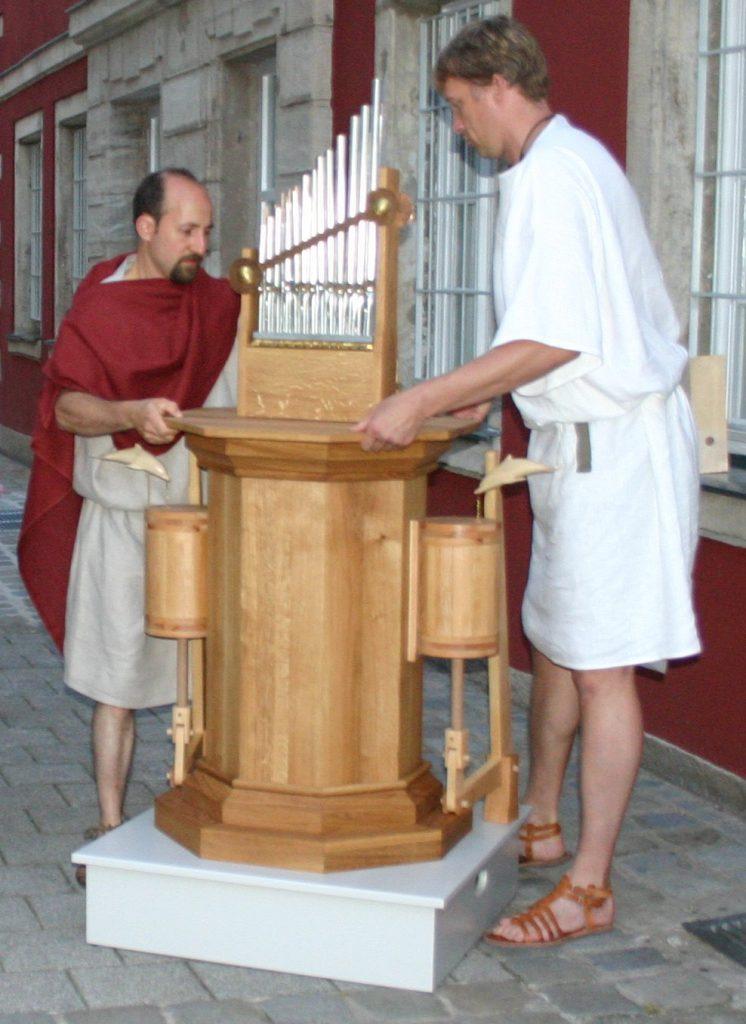 Hydraulis - Antico strumento musicale