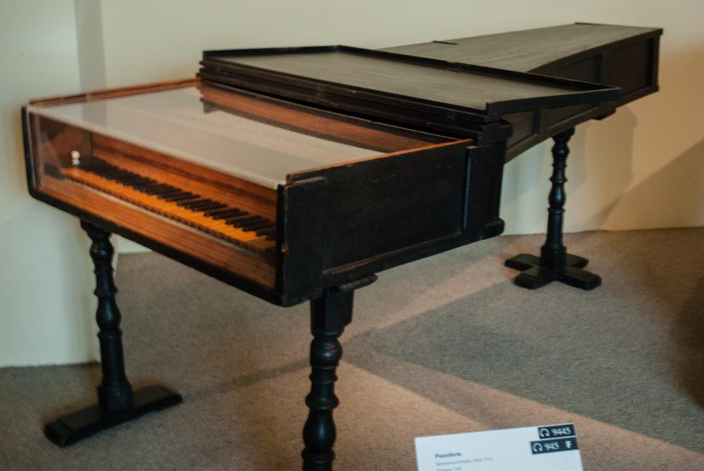 Un pianoforte originale di Cristofori del 1720