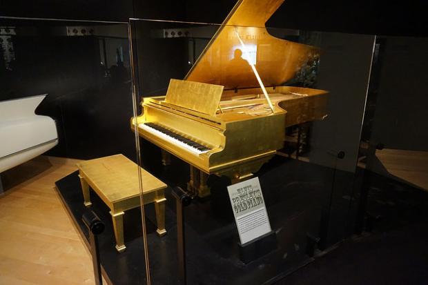 il pianoforte di Elvis Presley
