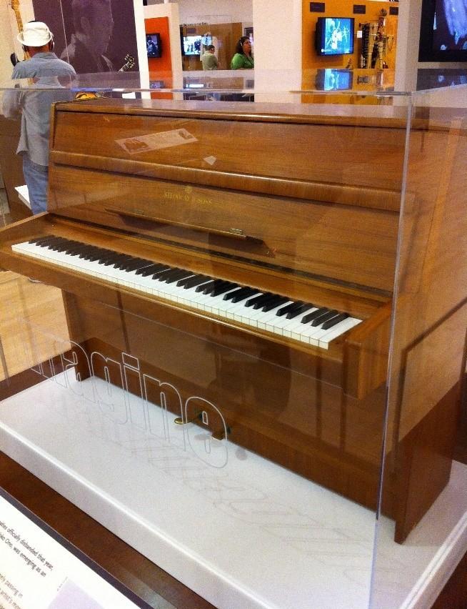 il pianoforte di John Lennon