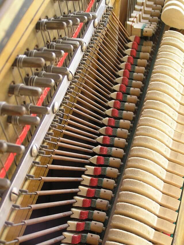 martelletti pianoforte verticale