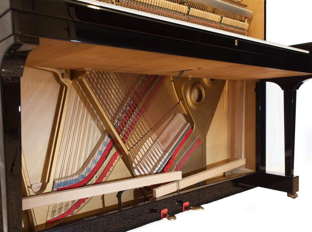 telaio pianoforte verticale