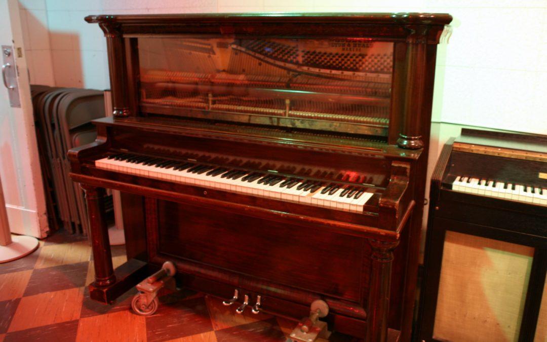 trasporto pianoforte verticale