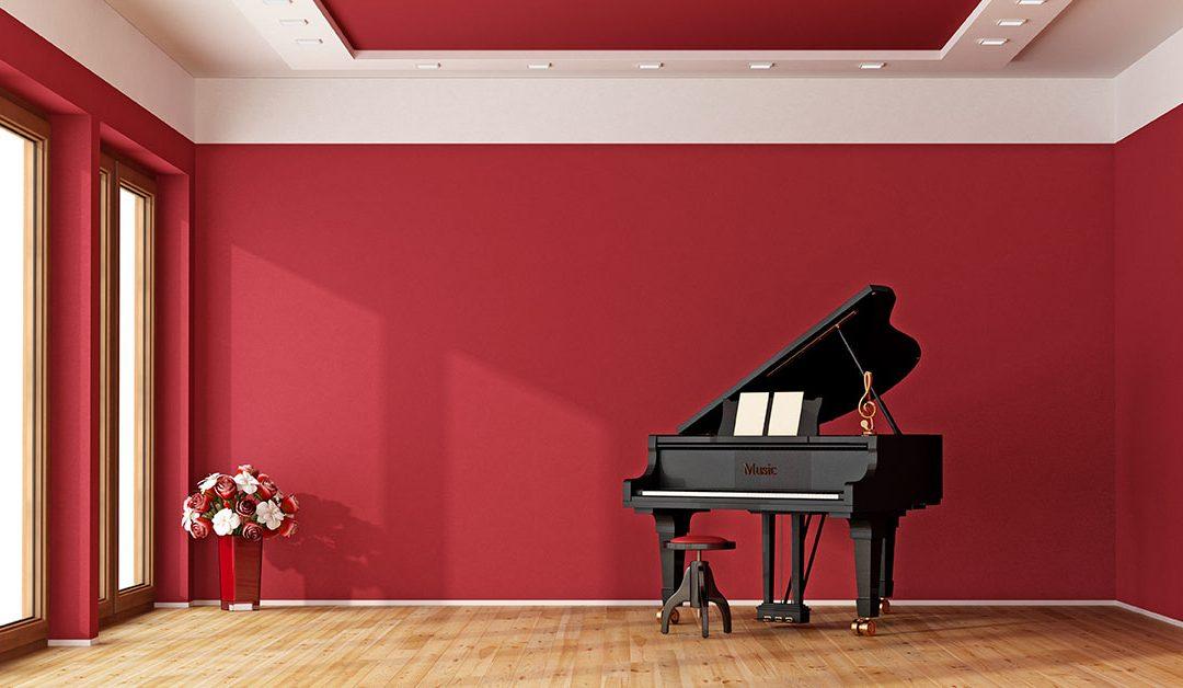 Dove mettere un pianoforte? Ecco qualche idea…