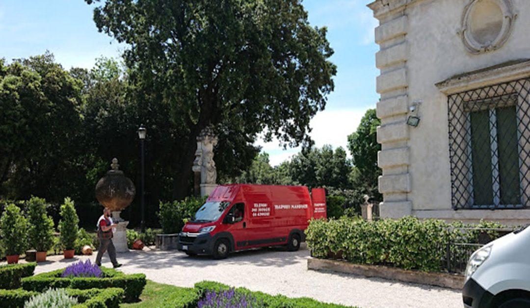 Trasporto urgente a Roma
