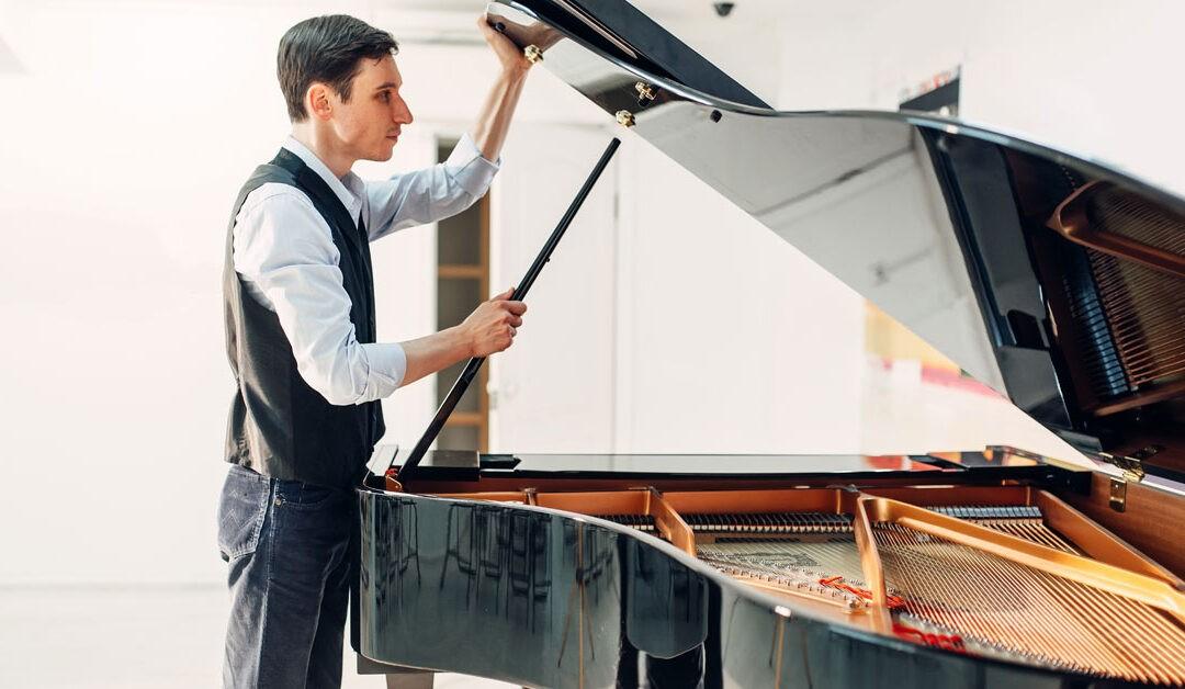 Trasportare un pianoforte da una casa all'altra